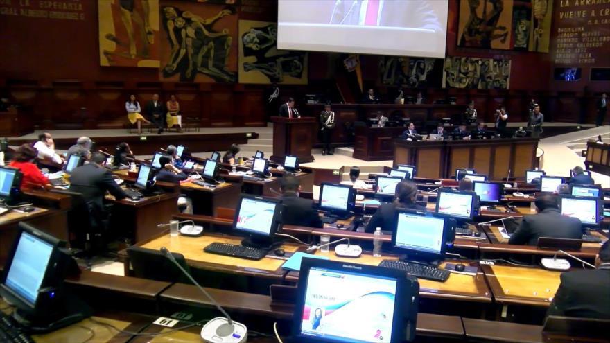 Destituyen 4 consejeros de la Participación Ciudadana en Ecuador