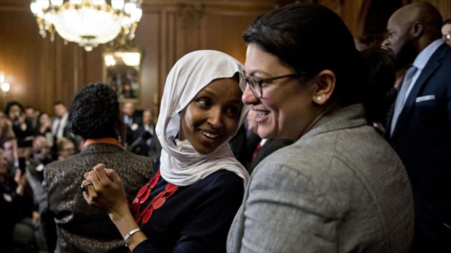 Israel veta entrada de congresistas musulmanas pro-BDS de EEUU