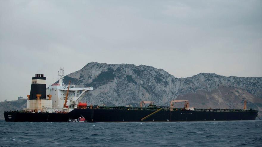 Gibraltar levanta retención de Grace 1 pese a presiones de EEUU