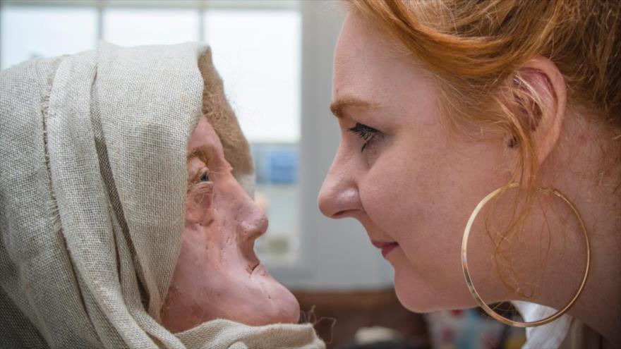 Recrearn rostro de una mujer que vivió hace 2000 años.