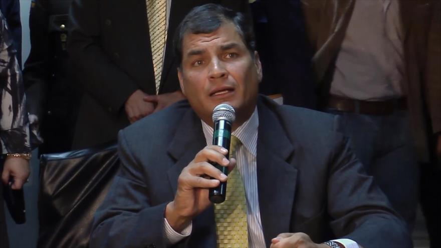 Desclasifican dos casos más para perseguir a Rafael Correa