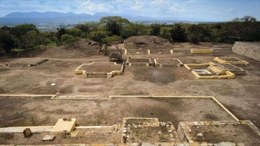 Arqueólogos hallan un templo dedicado a Xipe Tótec en el sitio arqueológico de Ndachjian-Tehuacán, ubicado en el estado de Puebla, en México.