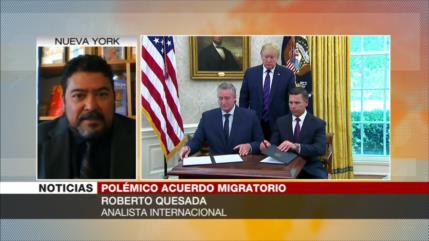 Quesada: Acuerdo migratorio entre EEUU y Guatemala es inhumano