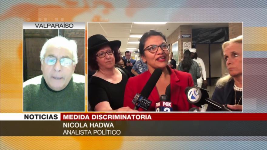 Hadwa: Rashida Tlaib se rebeló contra el racismo y la opresión israelíes