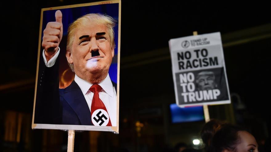 Maduro carga contra Trump y lo compara con Adolf Hitler