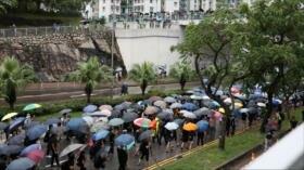 Continúan las protestas en Hong Kong contra ley de extradición