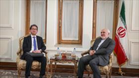 Irán y Japón acuerdan afianzar lazos bilaterales y consultas