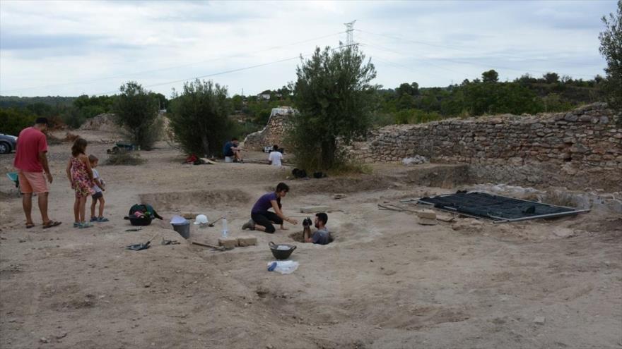 Yacimiento arqueológico de Riba-roja.