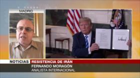 Moragón: Políticas de EEUU contra Irán fracasan a largo plazo