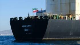 Petrolero liberado en Gibraltar zarpa hacia Mediterráneo