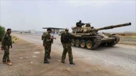 Ejército sirio logra entrar en ciudad estratégica de Jan Sheijun