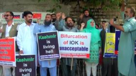 Continúan protestas en Cachemira en plena tensión indio-paquistaní