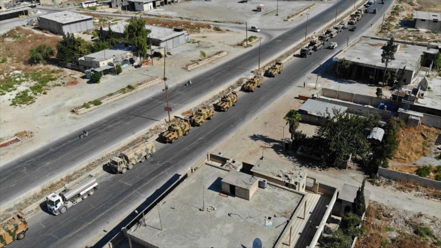 """Convoy turco cruza noroeste de Siria para """"apoyar a terroristas"""""""