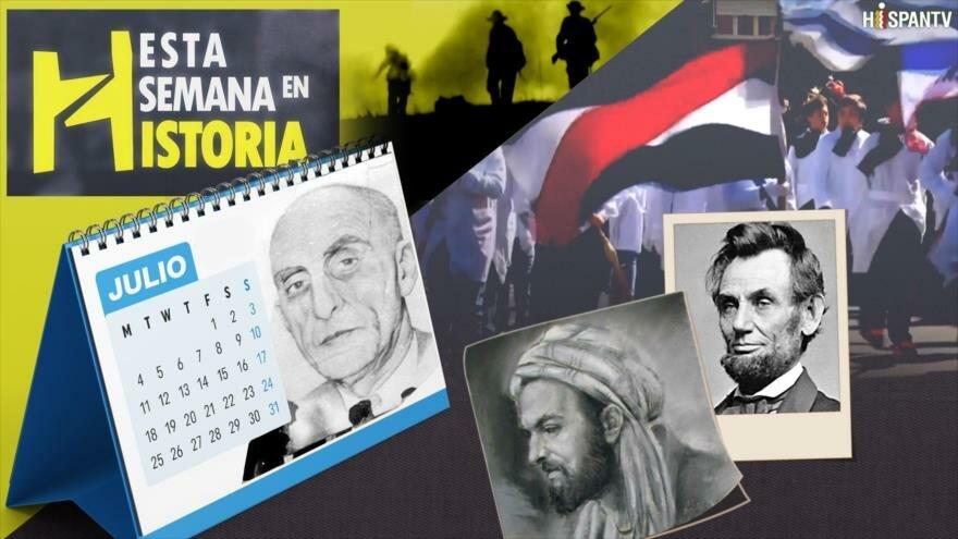EEUU y Reino Unido derrocan al Gobierno democrático de Irán, Finalización de la Guerra Civil norteamericana, Nace Avicena, Uruguay proclama su libertad