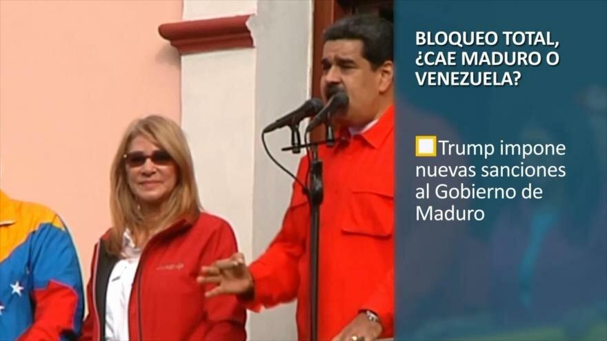 PoliMedios: Bloqueo total, ¿cae Maduro o Venezuela?