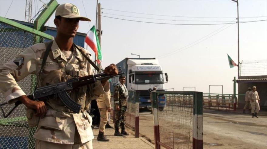 Un paso fronterizo en el este de Irán.