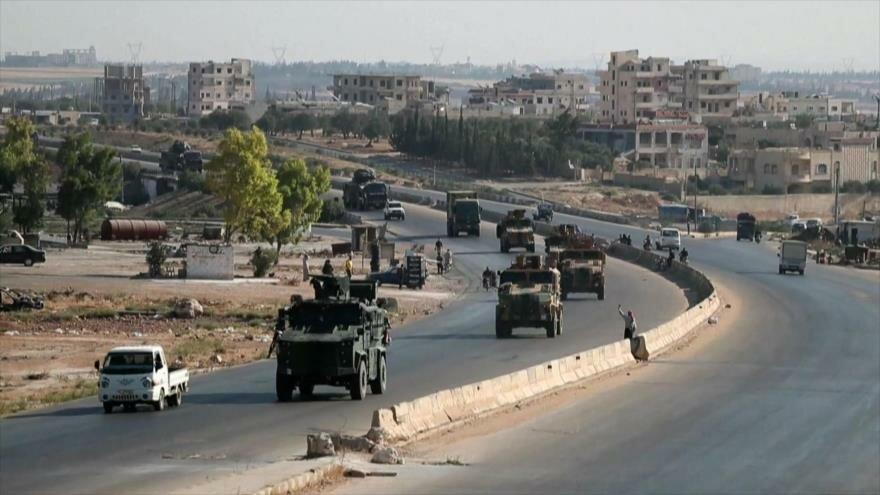 Convoy turco en Idlib. Guerra económica de EEUU. Buque Adrian Darya 1