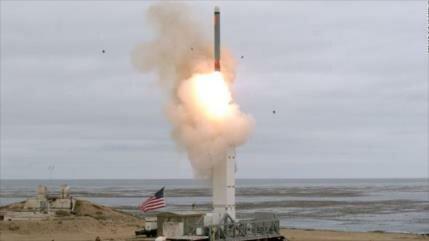 EEUU prueba misil de medio alcance tras su salida del tratado INF