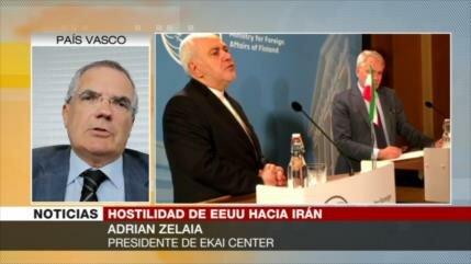 Zelaia: EEUU ha dañado su imagen en el mundo con sanciones a Irán