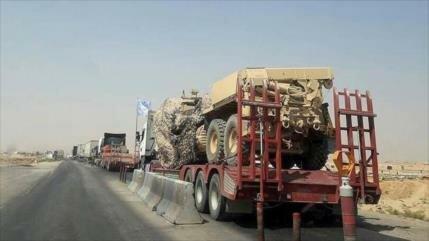 EEUU envía 60 camiones con ayudas militares a sus aliados en Siria
