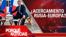 El Porqué de las Noticias: Petrolero Adrian Darya 1. Rusia y la UE. Eric Garner
