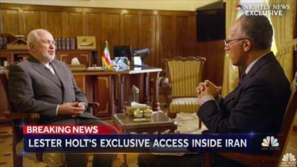 Zarif acusa a EEUU y sus aliados de tensionar Oriente Medio
