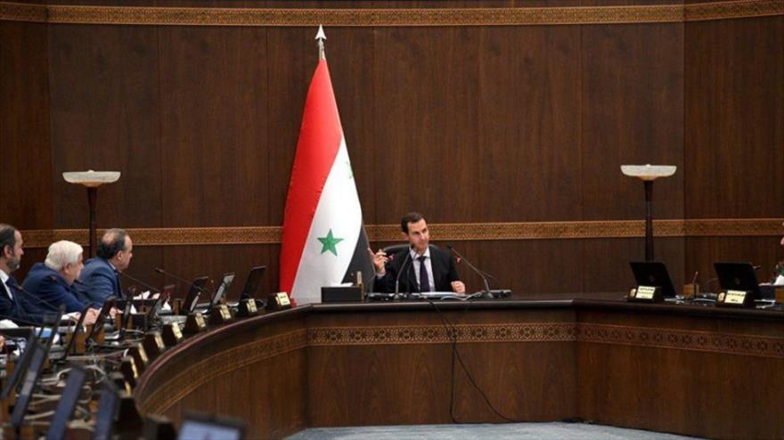 Al-Asad promete liberar cada centímetro del territorio sirio | HISPANTV