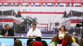 Maduro confirma contactos entre el Gobierno de Venezuela con EEUU