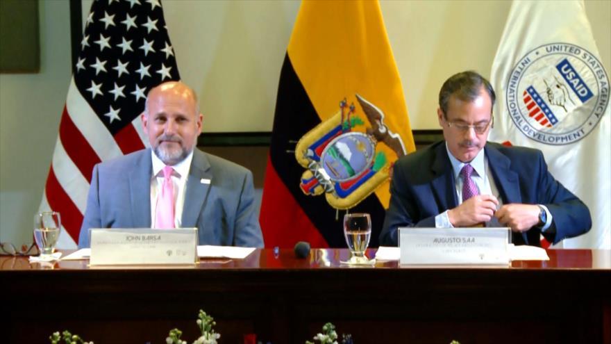 En medio de críticas, Ecuador urge a USAID a abrir sede en Quito