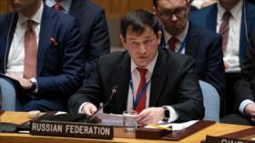 Rusia censura las declaraciones antiraníes de Pompeo en la ONU
