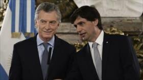 Macri cambia su ministro de Economía para enfrentar elecciones
