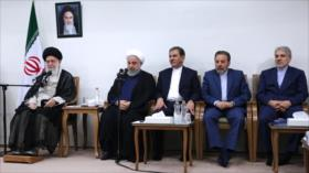 Líder iraní se reúne con el presidente y su gabinete ministerial