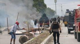 Indonesia despliega más tropas por disturbios en Papúa