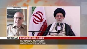 Moragón: EEUU no puede cambiar sistema de un gran país como Irán