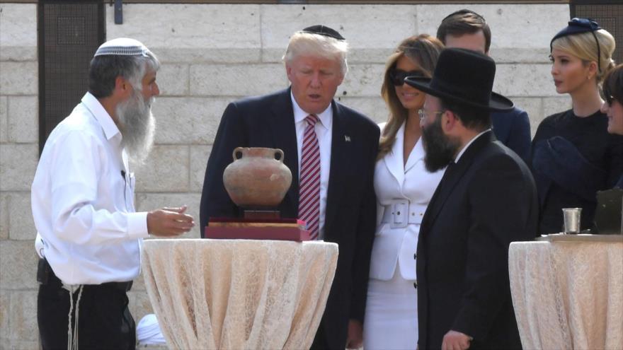 Trump ataca a judíos, tachándoles de 'desleales' e 'ignorantes'
