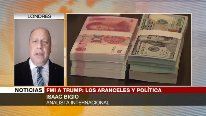 Bigio: Aranceles de Trump van a afectar incluidos EEUU y aliados
