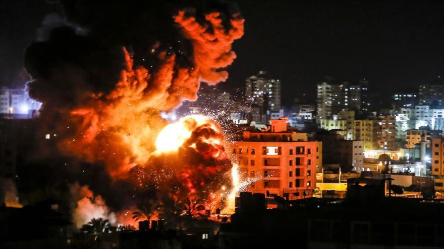 Aviones israelíes bombardean las costas norteñas de Gaza
