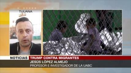 Almejo: Trump carga contra sin papeles para asegurarse votos duros