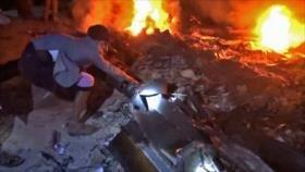 Yemen publica imágenes del dron estadounidense derribado