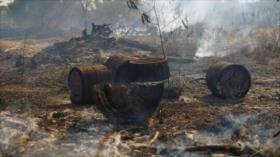 Selva de la Amazonía en Brasil arde a una velocidad récord