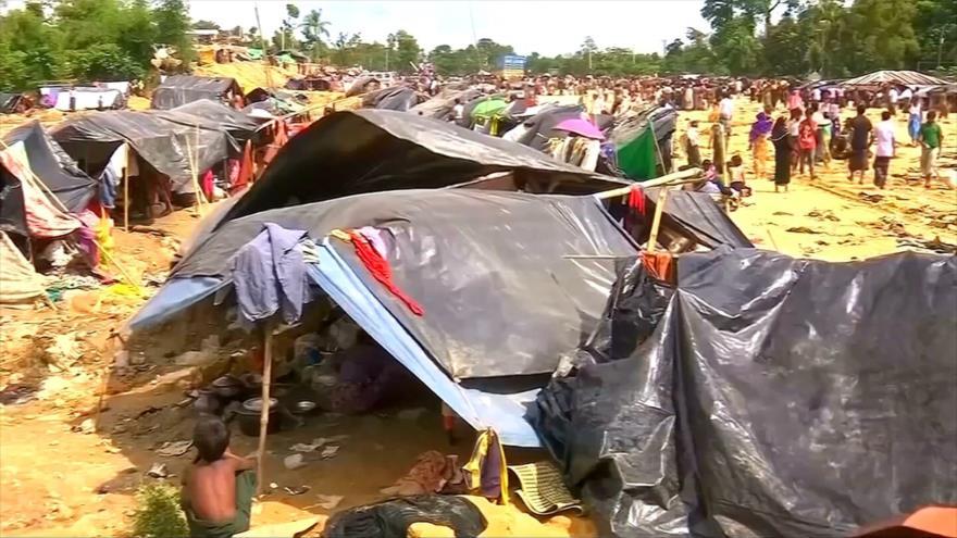 Rohingya en Bangladés están inquietos por planes de repartición