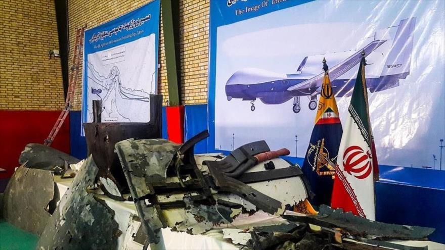 """""""Poderío de Irán impide que se acerque un dron de EEUU al país"""""""