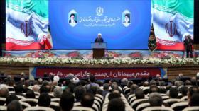 """""""Irán responderá la fuerza con fuerza y la lógica con lógica"""""""