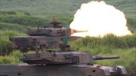 Japón realiza sus mayores ejercicios militares anuales