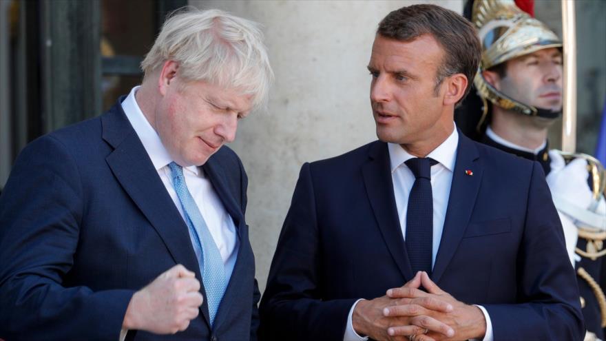 Macron cierra la puerta a Johnson para renegociar el Brexit