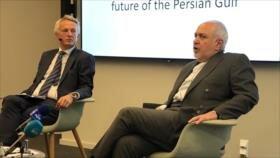 Canciller iraní: EEUU no puede minar seguridad en el Golfo Pérsico