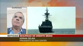 Zelaia: EEUU busca tapar su debilidad con una coalición naval