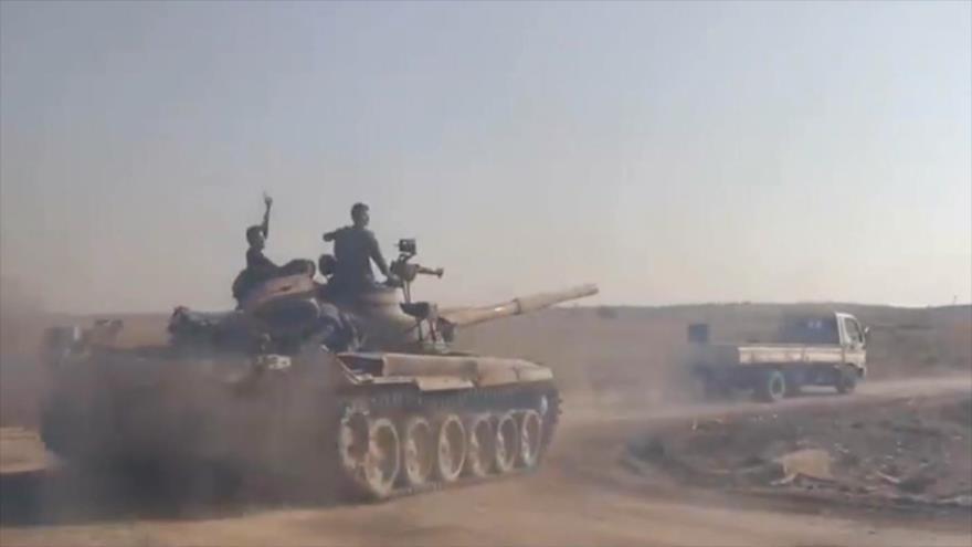 Ejército sirio recupera estratégica ciudad de Jan Sheijun en Idlib