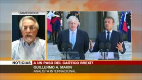A. Makin: Johnson busca culpar a UE de intransigencia sobre Brexit