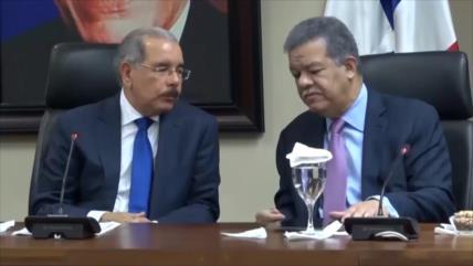 División amenaza al partido oficialista de la R. Dominicana